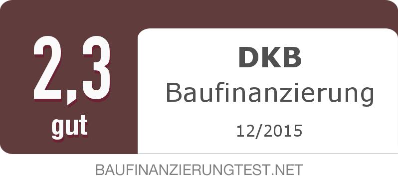 Testsiegel: DKB Baufinanzierung width=